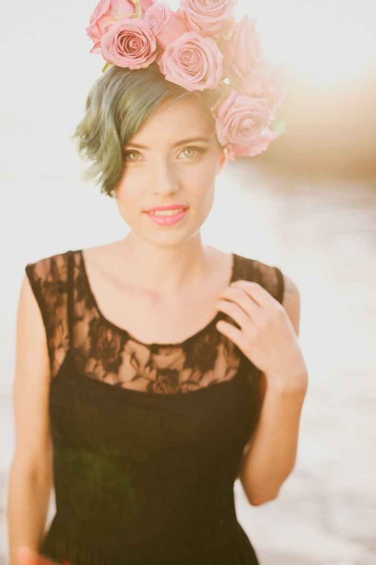 kassia, kassia phoy, california, el matador, liz vranesh, liz, flowers, flower crowns, pretty, sunset, beach, portrait, beautiful-7