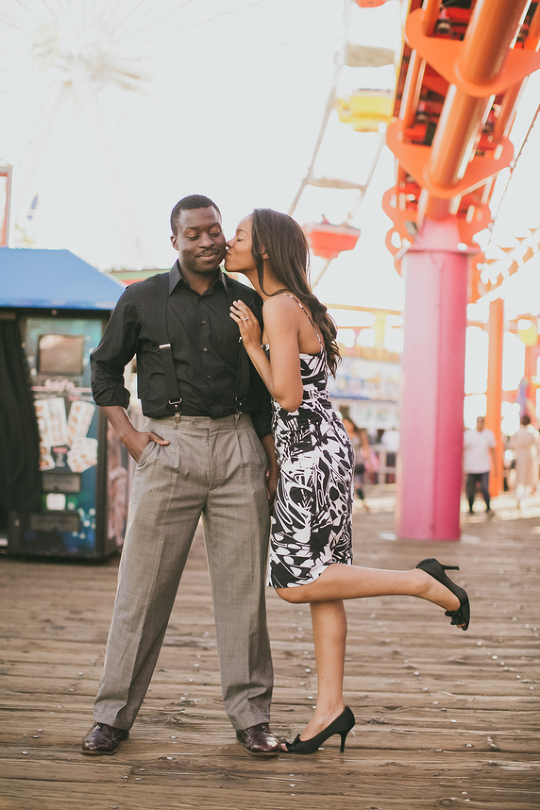 isaac & kamilah, kassia, kassia phoy, kassia photography, los angeles, santa monica, california, santa monica pier, los angeles photographer, wedding and engagement photographer, lifestyle, beach, couple, kassia photography,-13
